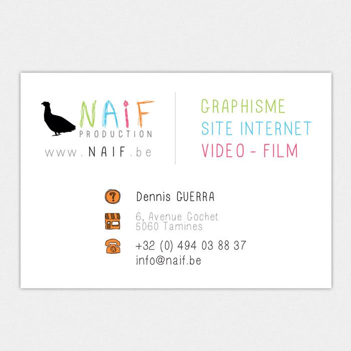 Carte de visite et création de logo Belgique