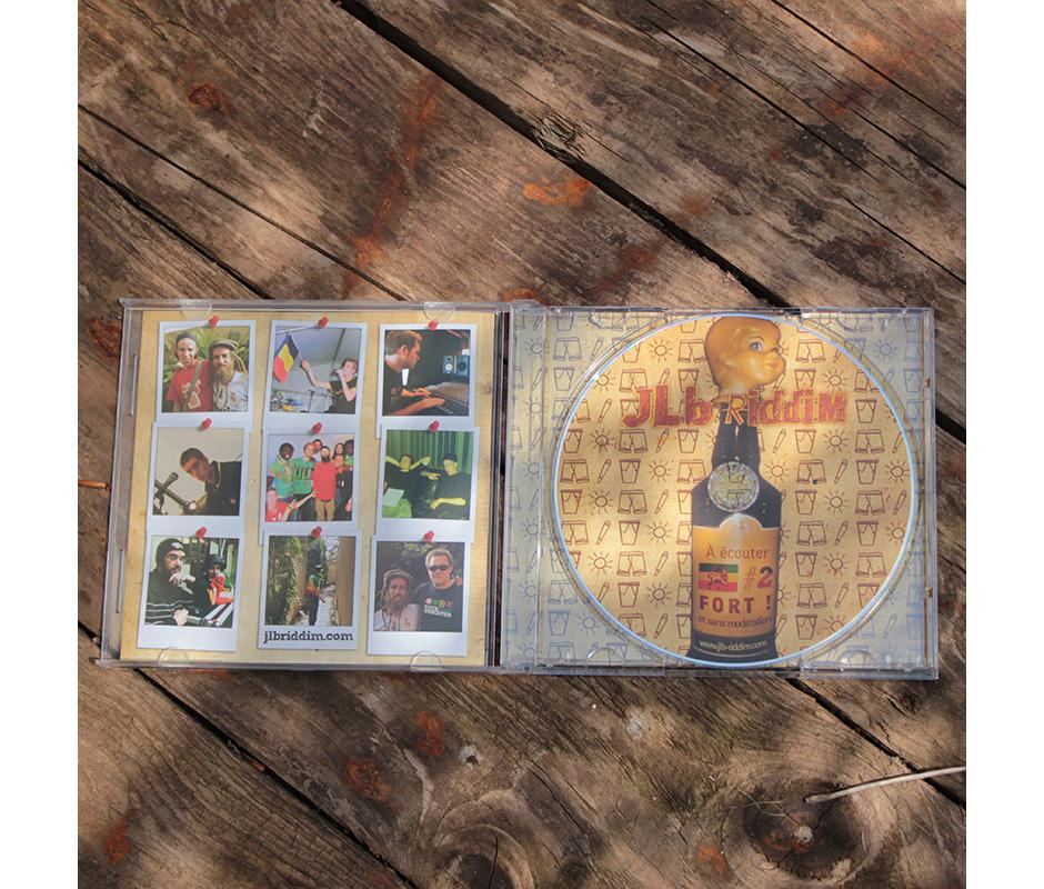 Pochette d'album JLB Riddim